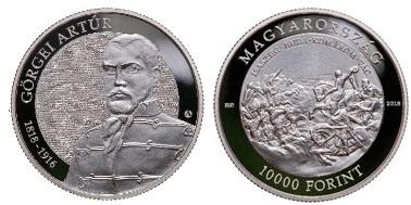 Görgei Artúr születésének 200. és az 1848-49 -es forradalom és szabadságharc 170. évfordulója - Ag ezüstérme