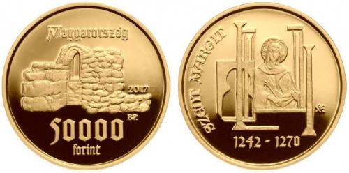 Árpád-házi Szent Margit - aranyérme