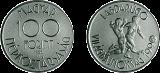 Labdarúgó Világbajnokság - Olaszország 1990 - színesfém érme