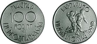 1989 1990. ÉVI LABDARÚGÓ VILÁGBAJNOKSÁG - OLASZORSZÁG - SZINESFÉM ÉRME