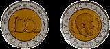 KOSSUTH LAJOS SZÜLETÉSÉNEK 200. ÉVFORDULÓJA (1802-1894) - SZÍNESFÉM ÉRME