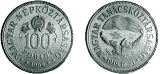 Tanácsköztársaság kikiáltásának 50. évfordulója - ezüstérme