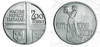 Magyar festők II. - Rippl-Rónai József - ezüstérme