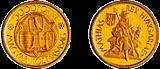 1990 MÁTYÁS KIRÁLY HALÁLÁNAK 500. ÉVFORDULÓJA - ARANYÉRME