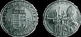 II. János Pál Pápa magyarországi látogatása emlékére - ezüstérme
