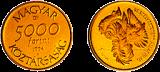 1994 Veszélyeztetett állatvilág - Túzok - aranyérme