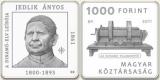 JEDLIK ÁNYOS 1861 - BEN LEÍRJA A DINAMÓ ELVÉT - SZINESFÉM ÉRME
