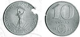 1981 FAO célkitűzéseinek támogatása - színesfém érme