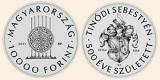 TINÓDI (LANTOS) SEBESTYÉN  - Ag (ezüst érme)
