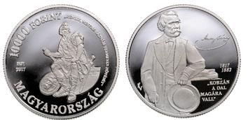 Arany János születésének 200. évfordulója - ezüstérme