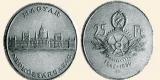 1956 Tíz éves a forint - ezüstérme