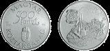 Régi dunai hajók - Carolina 1817 - ezüstérme
