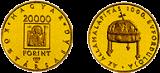 1999 AZ ÁLLAMALAPÍTÁS 1000. ÉVFORDULÓJA - ARANYÉRME