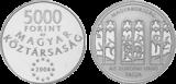 2004 MAGYARORSZÁG AZ EURÓPAI UNIÓ TAGJA - EZÜSTÉRME
