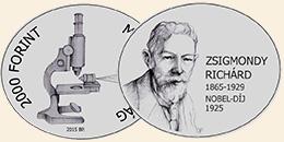 ZSIGMONDY RICHÁRD (1865-1929) - CUNi (szinesfém érme)