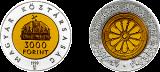 1999 AZ ÁLLAMALAPÍTÁS 1000. ÉVFORDULÓJA - EZÜST-ARANYÉRME