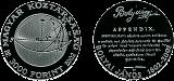 2002 BOLYAI JÁNOS SZÜLETÉSÉNEK 200. ÉVFORDULÓJA - EZÜSTÉRME