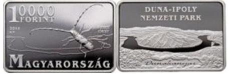 DUNA - IPOLY NEMZETI PARK - Ag (ezüst érme)