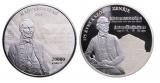 2018 A Szózat megzenésítésének 175. évfordulója ezüstérme