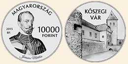 KŐSZEGI VÁR - Ag (ezüst érme)
