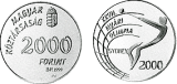 1999 2000. ÉVI NYÁRI OLIMPIAI JÁTÉKOK - SYDNEY - EZÜSTÉRME