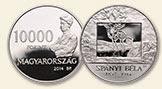 SPÁNYI BÉLA (1852-1914) - Ag (ezüst érme)