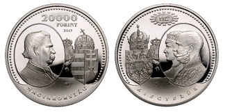 Kiegyezés 150. évfordulója - ezüst érme