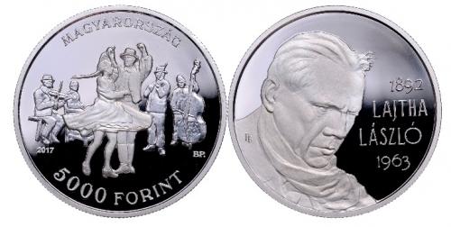 Lajtha László születésének 125. évfordulója - ezüstérme