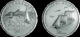 Régi Balatoni hajók - Phoneix 1797 - ezüstérme