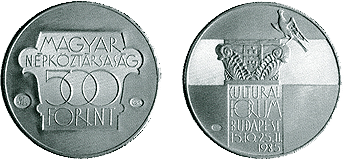 Kulturális Fórum - ezüstérme