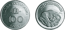 1990 S.O.S GYERMEKFALU - SZINESFÉM ÉRME