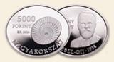 2014 BÁRÁNY RÓBERT (1876-1936) - Ag (ezüst érme)