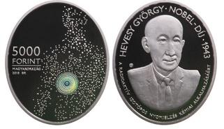 Hevesy György - Ag ezüstérme