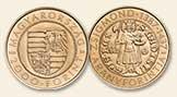 2016 Zsigmond aranyforintja - Színesfém érme