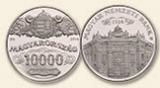 90 éves az MNB - ezüstérme