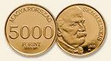 """Semmelweis Ignác """"miniarany"""" - Au aranyérme"""