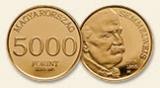 """2015 Semmelweis Ignác """"miniarany"""" - Au aranyérme"""
