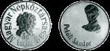 Petőfi sándor születésének 150. évfordulója - ezüstérme