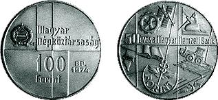 Magyar Nemzeti Bank megalakulásának 50. évfordulója - ezüstérme