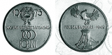 Felszabadulás 30. évfordulója - ezüstérme