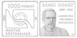 2009 BÁNKI DONÁT (1859-1922) SZÜLETÉSÉNEK 150. ÉVFORDULÓJA - SZINESFÉM ÉRME
